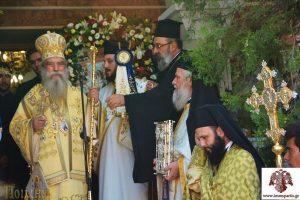 Ο εορτασμός των Ονομαστηρίων του Σεβ. Μητροπολίτη Σπάρτης κ. Ευσταθίου