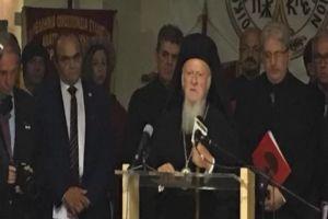 Στα εγκαίνια της έκθεσης φωτογραφία του Νίκου Μαγγίνα ο Οικουμενικός Πατριάρχης