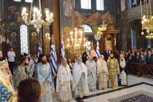 Εορταστική εκδήλωση και αρχιερατική λειτουργία για τα Ελευθέρια της Εδεσσας