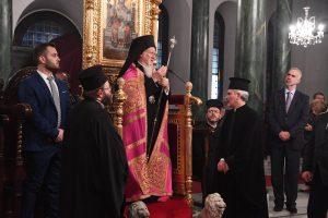Ο Οικουμενικός Πατριάρχης στον Άγιο ΔημήτριοΤαταούλων