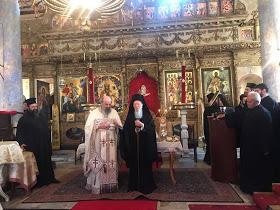 You are currently viewing Η θεία λειτουργία του Άγιου Ιακώβου του Αδελφοθεου στο Νιχώρι του Βοσπόρου παρουσία του Πατριάρχου