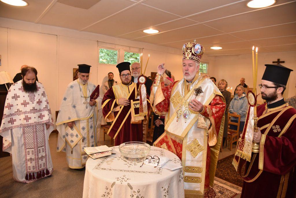 Θυρανοίξια Ναού Αγ. Ειρήνης μεγαλομάρτυρος και Παϊσίου του Αγιορείτου στο Βέλγιο