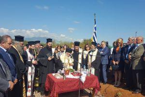 Χειροθεσίες και θεμελίωση Ι.Ναού στο Δαμιανό Πέλλας απο τον Μητροπολίτη Εδέσσης Ιωήλ.