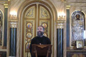 Ο π. Ανδρέας Κονάνος στην Ευαγγελίστρια Πειραιά: «Η βασική μας κατάσταση στον ψυχισμό μας, εφόσον βαπτιστήκαμε, είναι η χαρά»