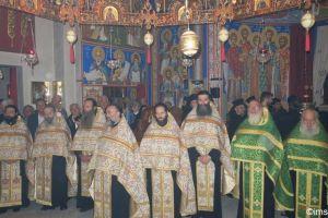 Η πανήγυρις της Συνοδικής και Σταυροπηγιακής Μονής του Αγίου Συμεών στον Κάλαμο