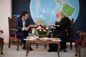 Στα Ιωάννινα συναντήθηκαν για 45 λεπτά,Πρωθυπουργός και Αρχιεπίσκοπος