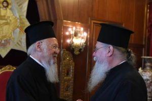 Στο Οικουμενικό Πατριαρχείο ο νεοεκλεγείς Μητροπολίτης Φιλίππων Στέφανος