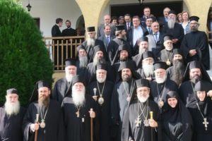 Ιστορικές στιγμές στο Ακριτοχώρι, για τα 50 χρόνια ιερατικής διακονίας του Ηγουμένου της Μ. Ξενοφώντος Αλεξίου