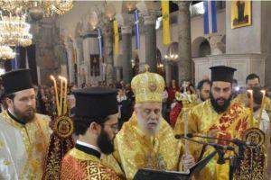 Τα εγκώμια στον Αγιο Δημήτριο στη Θεσσαλονίκη από τον Σύρου Δωρόθεο