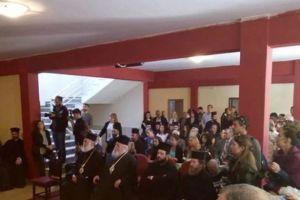 Αγιασμός και ορκομωσία στην Ανώτατη Εκκλησιαστική Ακαδημία Αθηνών