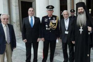 Δοξολογία για την Εθνική Επέτειο τελέσθηκε στον Μητροπολιτικό Ναό Αθηνών