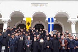 Το Αγιο Ορος εόρτασε την Επέτειο του ΟΧΙ-Δοξολογία στον Ι.Ν.του Πρωτάτου