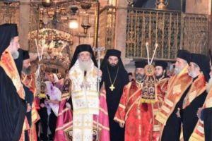 Εορτασμός 28ης Οκτωβρίου στο Πατριαρχείο Ιεροσολύμων