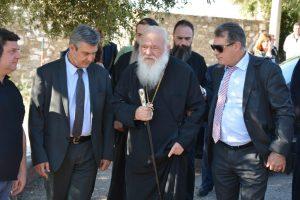 Ο Αρχιεπίσκοπος στην Αρχαία Μεσσήνη και το Δήμο Καλαμάτας