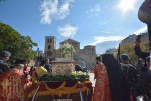 ιερά Λιτάνευσις των Ιερών Εικόνων της Παναγίας της Κανάλας, του αγίου Δημητρίου καθώς και των ιερών Λειψάνων