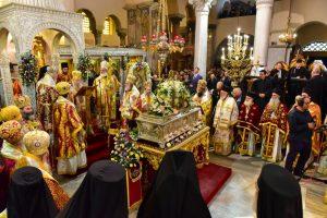 Η Θεσσαλονίκη τίμησε τον πολιούχο της Άγιο Δημήτριο