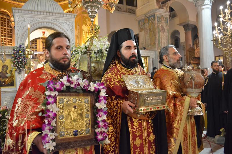 Πολυαρχιερατικός Εσπερινός στον ομώνυμο προσκυνηματικό ναό στη Θεσσαλονίκη