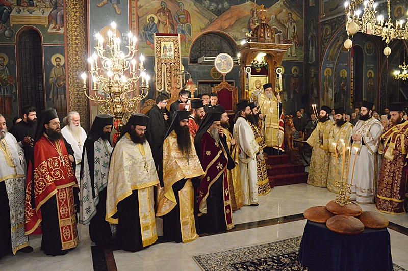 Πλειας αρχιερέων και πλήθος πιστών στα ονομαστήρια του σεβ. Μητροπολίτου Εδέσσης κ. Ιωήλ