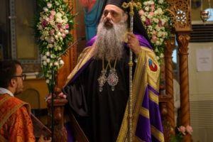 Ο Μητροπολίτης Σταγών & Μετεώρων λειτούργησε στον Άγιο Γεώργιο Καλαμάτας.