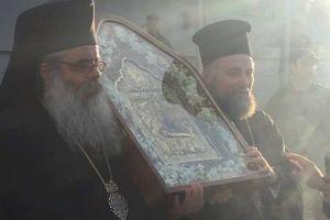Την Εικόνα της Παναγίας των Ναυμάχων υποδέχτηκε ο Ι. Ναός Αγίου Δημητρίου Πειραιώς