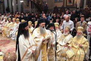Χειροτονήθηκε ο νέος Μητροπολίτης Σταγών και Μετεώρων Θεόκλητος.
