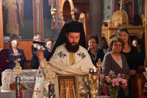 Ιερά αγρυπνία για την την εορτή του Αγίου Ιακώβου του Αδελφοθέου στην Ηρα Αργολίδας