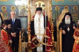 Αρχιεπίσκοπος Ιερώνυμος από τον Αλμυρό-Βόλου: «Αυτός ο τόπος δεν θα πεθάνει»