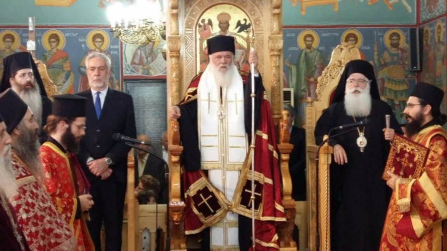 You are currently viewing Αρχιεπίσκοπος Ιερώνυμος από τον Αλμυρό-Βόλου: «Αυτός ο τόπος δεν θα πεθάνει»