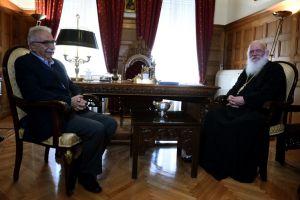 Συνάντηση Αρχιεπισκόπου με τον Υπουργό Παιδείας