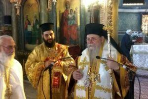 Ο Μητροπολίτης Φιλίππων Στέφανος λειτούργησε στον Καθεδρικό Ναό της του Θεού Σοφίας Θεσσαλονίκης