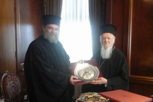 Επίσκεψη του Πανιερωτατου Μητροπολίτου Ταμασού και Ορεινής κ. Ησαίας, στην Κωνσταντινούπολη