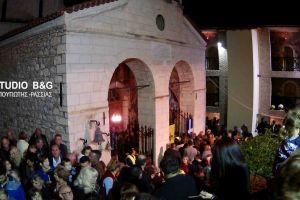 Η εορτή του Αγίου Δημητρίου στο Βυζαντινό μοναστήρι του Αγίου Δημητρίου Καρακαλά Ναυπλίου