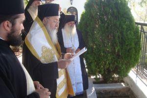 Η Εξόδιος Ακολουθία της Προηγουμένης της Ι. Μονής Οσίου Παταπίου