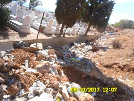 Απαράδεκτη η κατάσταση στο Νεκροταφείο του Μερσινιδίου -kounoupi.gr