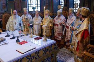 Με λαμπρότητα και πλήθος Ιεραρχών στα ονομαστήρια του Εδέσσης Ιωήλ