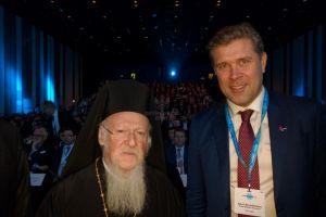 Συνάντηση Οικουμενικού Πατριάρχου με Πρωθυπουργό της Ισλανδίας