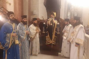 Εορτάστηκε η Αγία Σκέπη της Θεοτόκου στη Μητρόπολή Λεμεσού