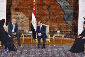 Συνάντηση Πατριάρχη Αλεξανδρείας Θεοδώρου, με τον Πρόεδρο της Αιγύπτου