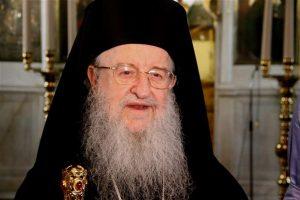 Θεσσαλονίκης Άνθιμος: ••Η Εκκλησία αγκαλιάζει όλα τα παιδιά της! ••Και μείς μπορούμε να πούμε ότι αυτοί που είναι στη Βουλή έχουν ιδιαιτερότητες..
