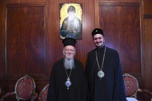Ο Αρχιραββίνος Αθηνών στον Οικουμενικό Πατριάρχη