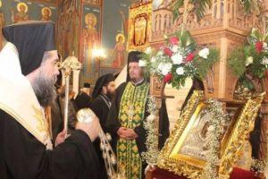 Υποδοχή της Παναγίας Κοσμοσώτειρας στις Σέρρες