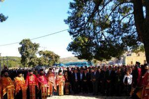 Λαμπρός εορτασμός της 151ης επετείου Ολοκαυτώματος της Μονής Αρκαδίου
