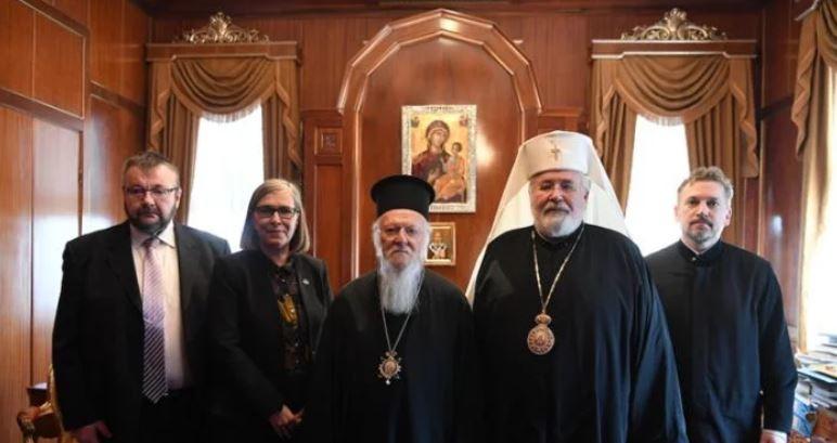 Στο Φανάρι ο Αρχιεπίσκοπος Φινλανδίας Λέων