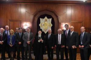 Συνάντηση του Οικουμενικού Πατριάρχη με τον Υπουργό Γιώργο Κατρούγκαλο