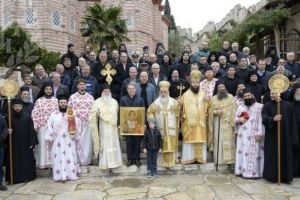 Εγκαίνια Παρεκκλησίου στην Ιερά Μονή Ξενοφώντος