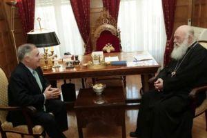 Συνάντηση του Αρχιεπισκόπου με τον Ισπανό Πρέσβη
