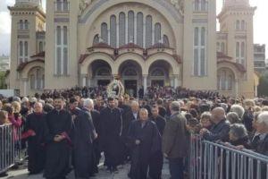 Κοσμοσυρροή στον Αγιο Ανδρέα στην Πάτρα- Ιεράρχες και ο Πρόεδρος κ. Παυλόπουλος στον πανηγυρικό εορτασμό
