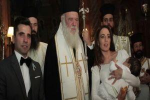 Το όνομα του Αρχιεπισκόπου έδωσε στον γιο του ο ηθοποιός Θανάσης Βισκαδουράκης