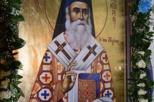 Μέγας Εσπερινός Αγίου Νεκταρίου Πενταπόλεως στην Συνοικία Παπακώστα – Μάνδρας