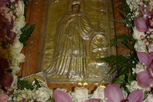 Ο Μέγας Εσπερινός της Αγίας Αικατερίνης-πολιούχου της πονεμένης Μάνδρας